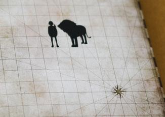 食ものがたりの登場人物のシルエットが描かれた本の表紙