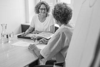 individuelles Coaching im persönlichen Gespräch