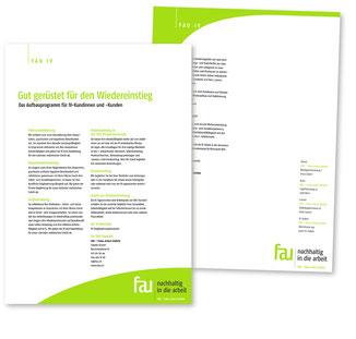 Flyer IV Publikation Angebot für Führungskräfte und Fachspezialisten