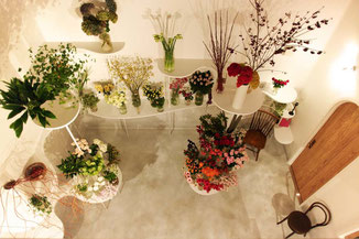 Flowershop Greenlife,フラワーショップグリーンライフ,アトリエフク,函館,釧路,インテリアデザイン,店舗デザイン,フラワーショップ,お花屋さん,生花店