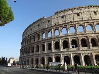 Rom: Amphitheatrum Flavium = Kolosseum