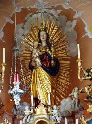 Maria, Königin des Himmels, Frauenbergkapelle, Eichstätt