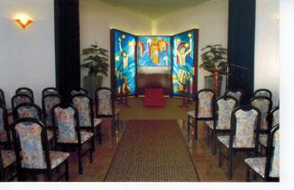 Hauseigene Trauerhalle in Oettersdorf mit ca. 70 Sitzplätzen