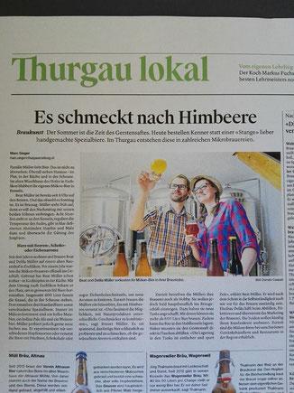 29.05.2017 - Thurgauer Zeitung