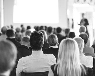 Seminare und Workshops für Unternehmen und Behörden