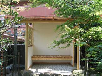 日本庭園四阿