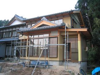 お寺 庫裏新築工事