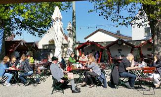 Der Brauerei Gaststätte Biergarten Camba in D-89423 Gundelfingen