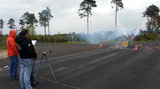Lautstärkemessung Feuerwerk MK-Pyrodesign