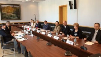 meeting with the Khabarovsk State Government