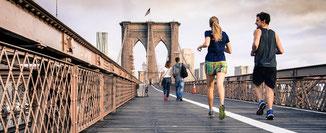 Laufkarten, Joggingstrecken, Hotel, mfih