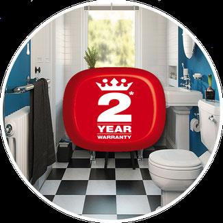 5 year warranty on tub resurfacing