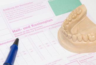 HKP Heil und Kostenplan für Veneers Zahnarzt Pilsl Garmisch ©  O.K.  fotolia.com