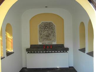 Vierzehnnothelfer-Kapelle (Innenanstrich 2006)