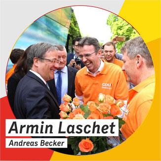 Armin Laschet, Andreas Becker