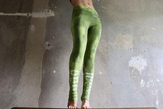 Batik Leggings Nature  Gr. M