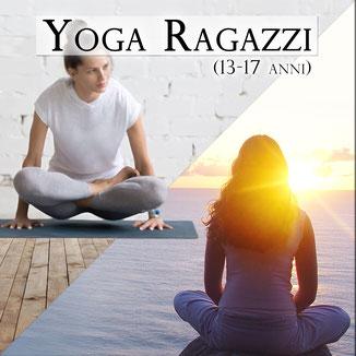 corsi yoga ragazzi 13-17 anni carmagnola torino