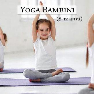 corsi yoga bambini bimbi 8-12 anni carmagnola torino