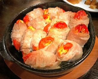 三宅サンマルツァーノ 美味なる料理 豚肉巻き リターノ