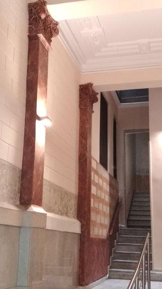 Restauració patrimoni al  L' Eixample, Barcelona