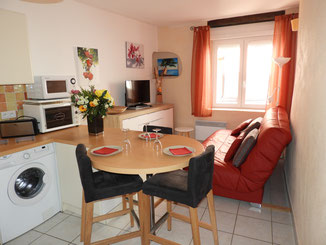 APPARTEMENT N° 3 - T2 : 4 personnes