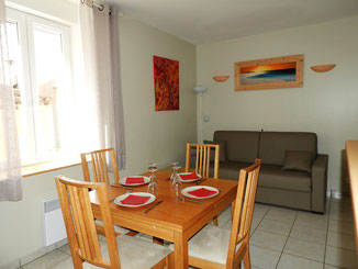 APPARTEMENT N° 1 - T2 : 6 personnes