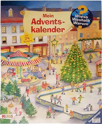 Adventskalender mit Büchern, Wieso Weshalb Warum Adventskalender
