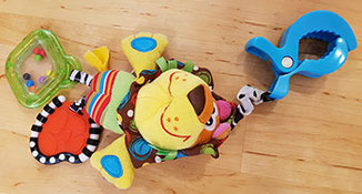 Kinderwagenanhänger Playgro Löwe