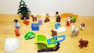 Adventskalender Tipp, Playmobil Adventskalender Waldweihnacht