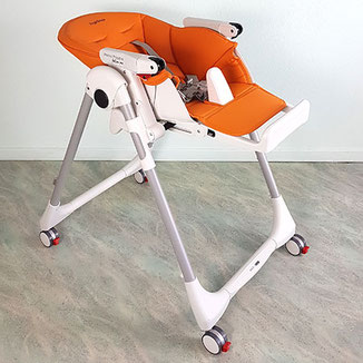 Peg Perego Hochstuhl, Peg Perego Prima Pappa Follow me orange
