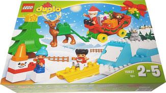 Duplo Winterspaß mit dem Weihnachtsmann