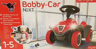 Bobby Car Next mit Flüsterreifen