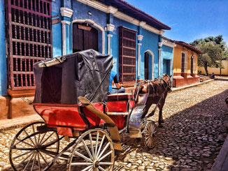 Trinidad - eine der am besten erhaltenen Kolonialstädte der Karibik (zählt zum UNESCO Weltkulturerbe)