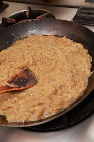 洋食屋みさくぼハンバーグ調理