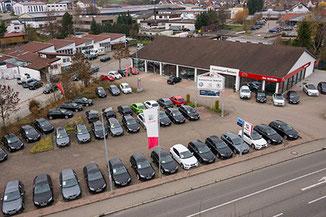 Verkauf von Kia, Seat, Skoda, VW im Autozentrum Beilstein