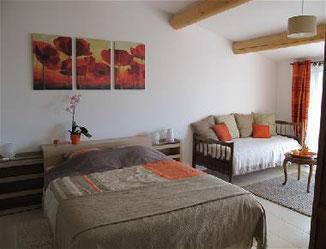 Chambres d'hotes à Bédoin dans le Vaucluse - Lou Cardalines.