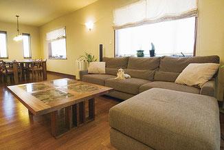 自然素材の家具