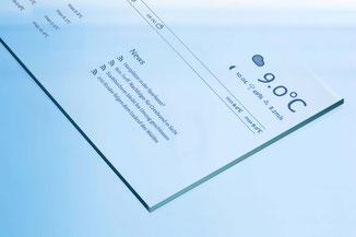 ESG Glas nach Maß