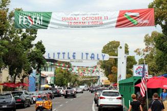 Litte Italy, San Diego, Kalifornien, USA, Die Traumreiser