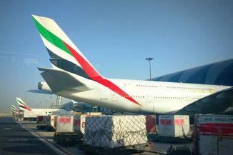 Dubai, Emirates, Airbus A380, Die Traumreiser