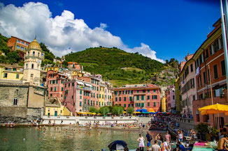 Cinque Terre, Italien, bunte Häuser, Küste, Die Traumreiser