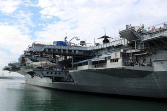USS Midway, Flugzeugträger, Museum, San Diego, Kalifornien, USA, Die Traumreiser