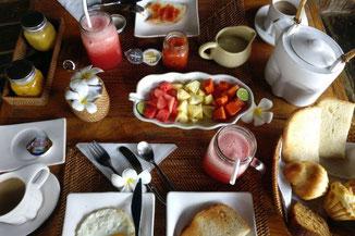 Leckeres Frühstück im Le Yanandra