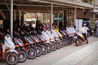 Koh Samui, Thailand, Die Traumreiser, Roller, Scooter