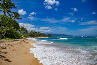 Nordküste Oahu, Strand, Oahu, Hawaii, USA, Strand, Die Traumreiser