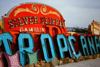 Neon Museum Las Vegas, Nevada, USA, Die Traumreiser