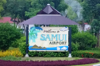 Koh Samui, Thailand, Die Traumreiser, Airport, FLughafen