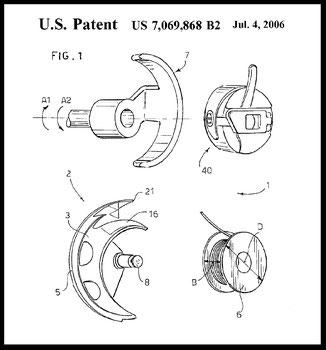US 7.069.868  July 4, 2006