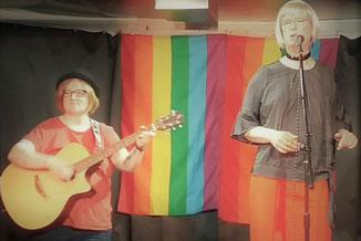 Christiane Beetz & Doris Hudson singen am 31.10.20