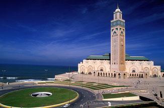 Casablanca-Besuch auf einer Marokko-Rundreise